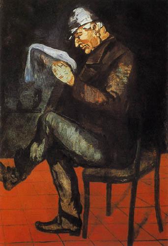 Paul Cézanne (Cezanne) - Portrait of Louis-Auguste Cézanne