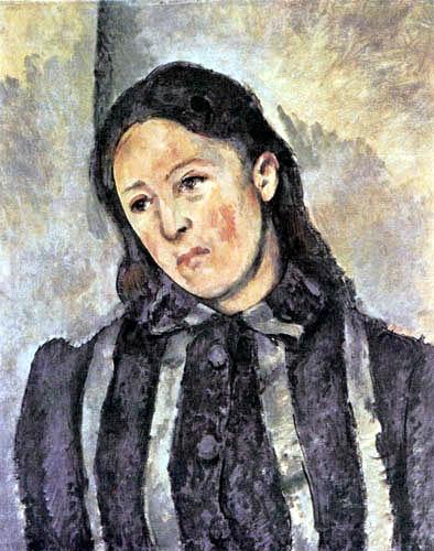 Paul Cézanne (Cezanne) - Madame Cézanne
