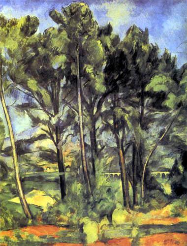 Paul Cézanne (Cezanne) - Das Aquädukt