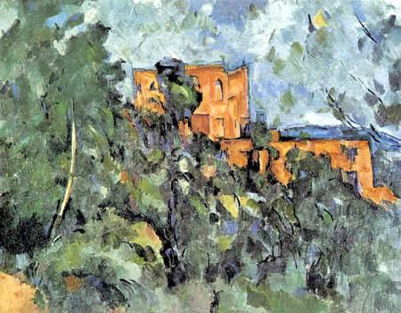 Paul Cézanne (Cezanne) - Das Château Noir