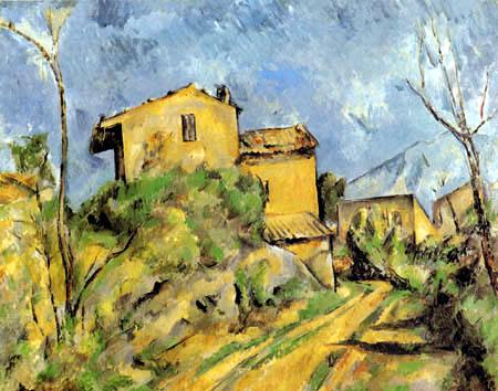 Paul Cézanne (Cezanne) - The house Maria on the Way to the Château Noir