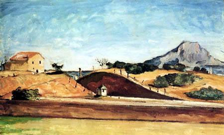Paul Cézanne (Cezanne) - Der Bahndurchstich