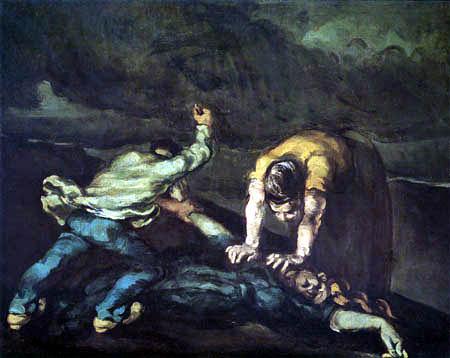 Paul Cézanne (Cezanne) - Der Mord