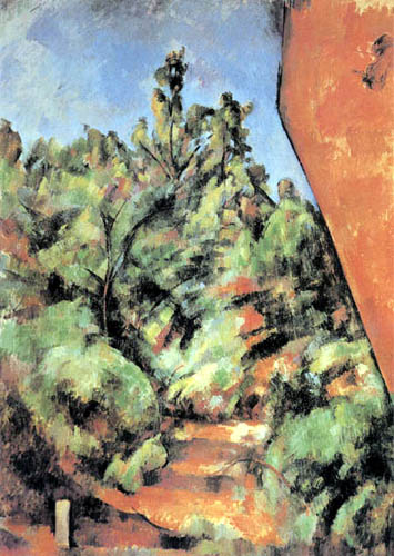 Paul Cézanne (Cezanne) - The Red Rock