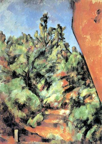 Paul Cézanne (Cezanne) - Der rote Felsen