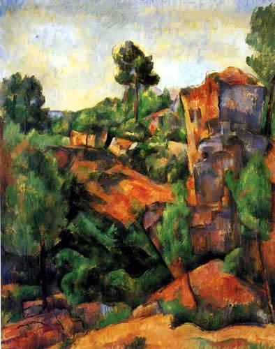 Paul Cézanne (Cezanne) - The Quarry near Bibémus
