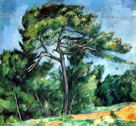 Paul Cézanne (Cezanne) - The pine tree