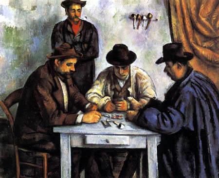 Paul Cézanne (Cezanne) - Die Kartenspieler
