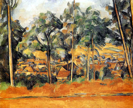 Paul Cézanne (Cezanne) - Village in Provence