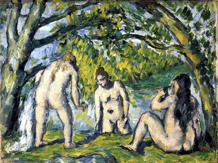 Paul Cézanne (Cezanne) - Three Bathing Women