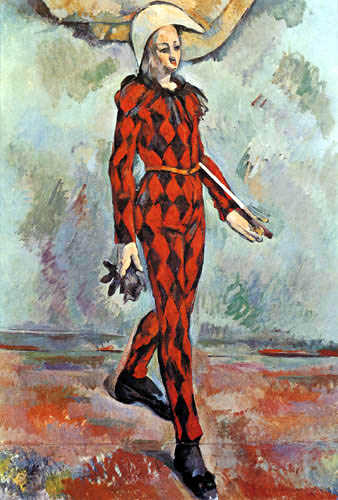 Paul Cézanne (Cezanne) - Harlekin