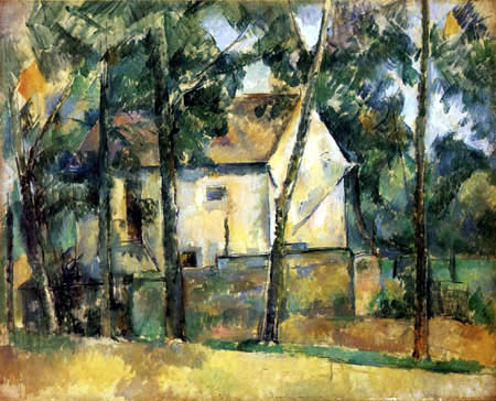 Paul Cézanne (Cezanne) - House and Trees