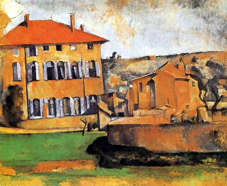 Paul Cézanne (Cezanne) - Jas de Bouffan