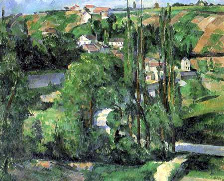 Paul Cézanne (Cezanne) - Cote du Galet, Pontoise