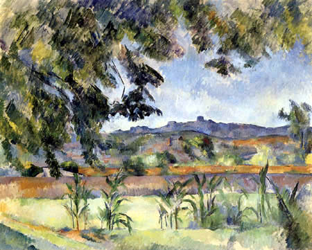 Paul Cézanne (Cezanne) - Le Pilon du Roi
