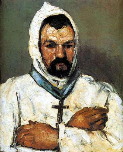 Paul Cézanne (Cezanne) - Uncle Dominique as a monk
