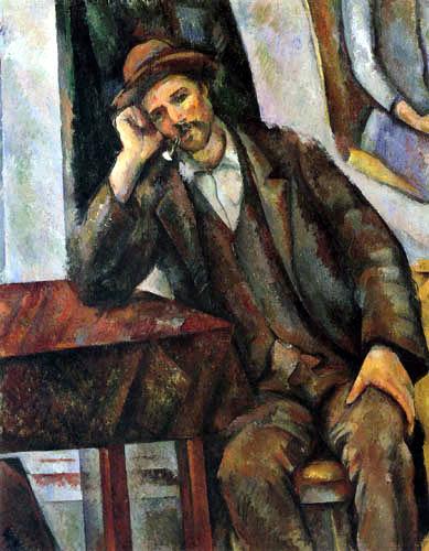 Paul Cézanne (Cezanne) - The Smoker