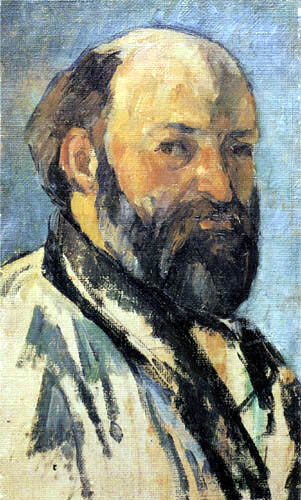 Paul Cézanne (Cezanne) - Selbstbildnis