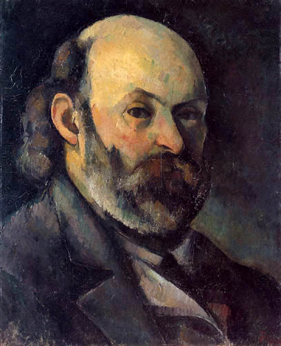 Paul Cézanne (Cezanne) - Self-portrait