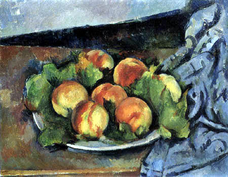 Paul Cézanne (Cezanne) - Still Life with Peaches