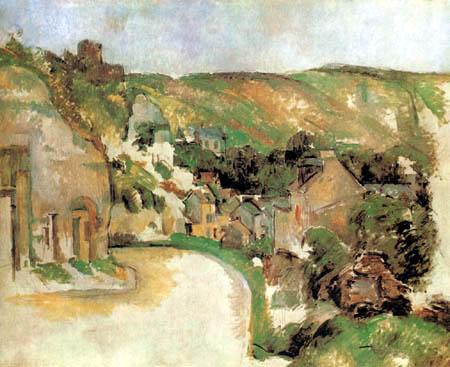 Paul Cézanne (Cezanne) - Roche-Guyon