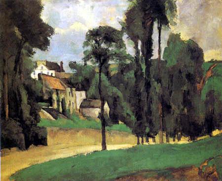 Paul Cézanne (Cezanne) - Landscape near Pontoise
