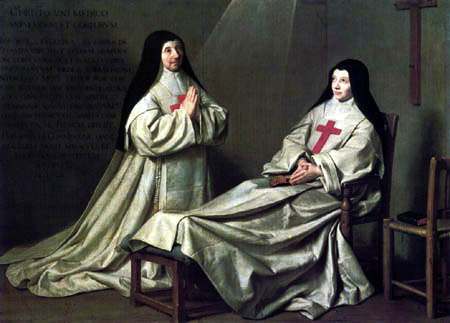 Philippe de Champaigne - Mother and sister