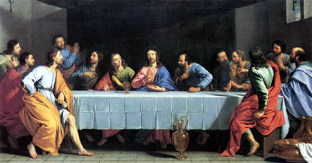 Philippe de Champaigne - The Lord´s Supper