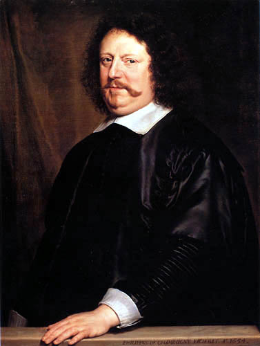 Philippe de Champaigne - Porträt Henri Groulart