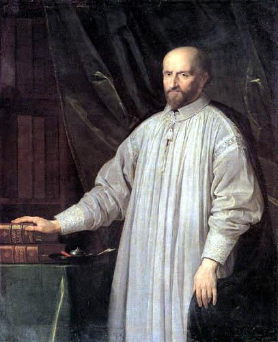 Philippe de Champaigne - Portrait of Jean-Ambroise Duvergier de Hauranne, Abbé de Saint-Cyran