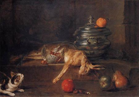 Jean-Baptiste Siméon Chardin - The silver terrine