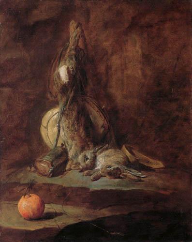 Jean-Baptiste Siméon Chardin - Stillleben mit toten Kaninchen