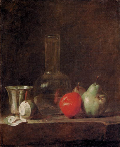 Jean-Baptiste Siméon Chardin - Still life with fruits