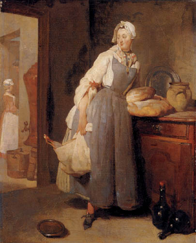 Jean-Baptiste Siméon Chardin - The return of the market
