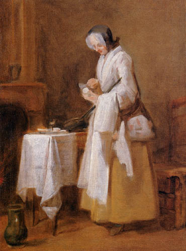 Jean-Baptiste Siméon Chardin - The attentive patient guard