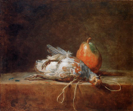Jean-Baptiste Siméon Chardin - Dead Partridge with Pear