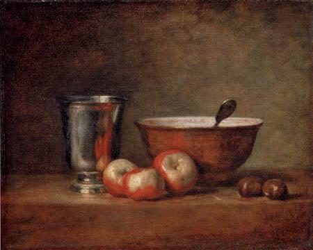 Jean-Baptiste Siméon Chardin - Der Silberbecher