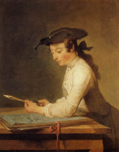 Jean-Baptiste Siméon Chardin - The drawer