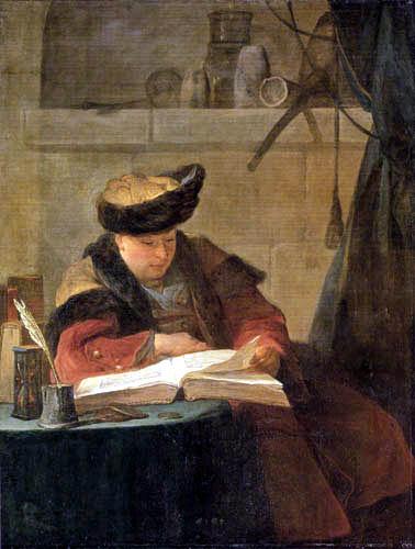 Jean-Baptiste Siméon Chardin - The Alchemist