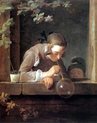 Jean-Baptiste Siméon Chardin - Soap bubbles