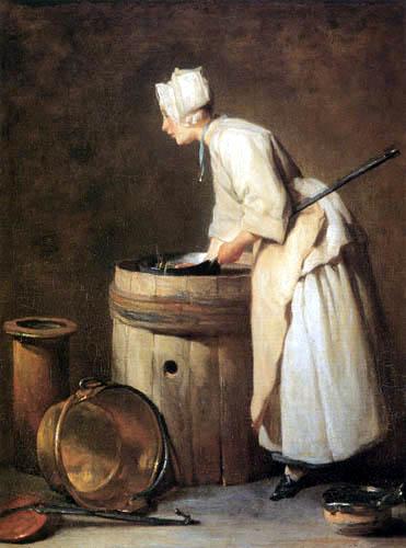 Jean-Baptiste Siméon Chardin - Boiler cleaner