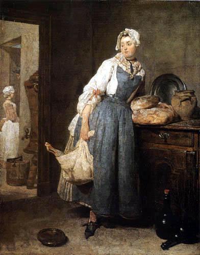Jean-Baptiste Siméon Chardin - Die Rückkehr vom Markt