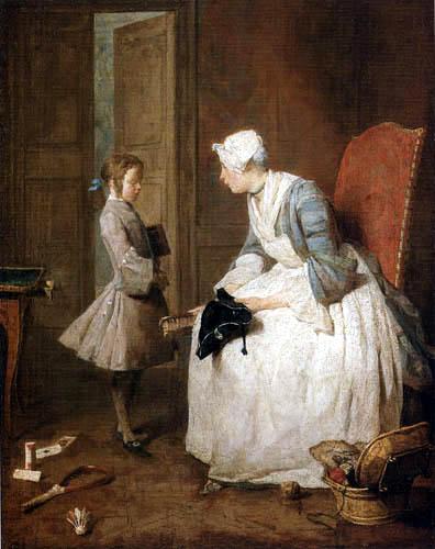 Jean-Baptiste Siméon Chardin - Governess