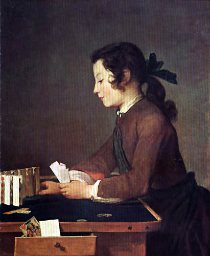 Jean-Baptiste Siméon Chardin - House of Cards