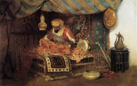 William Merritt Chase - Der maurische Krieger
