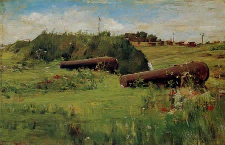 William Merritt Chase - Frieden am Fort Hamilton