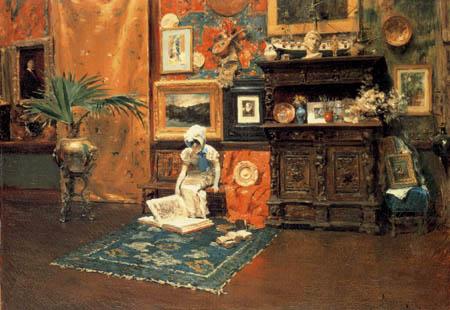 William Merritt Chase - Interior