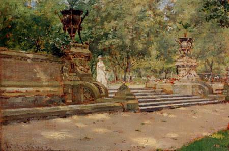 William Merritt Chase - Prospect Park