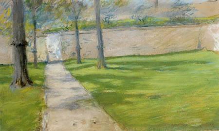 William Merritt Chase - Un peu de lumière du soleil