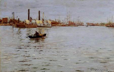 William Merritt Chase - Der East River